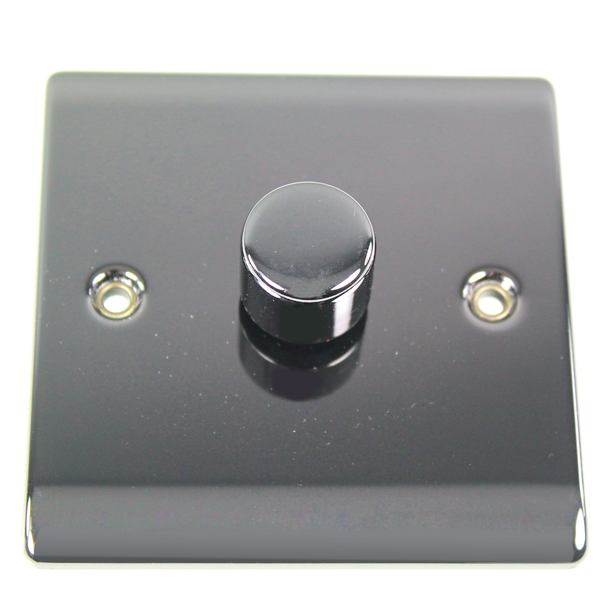 1 Gang 2 Way Black Nickel Dimmer Switch