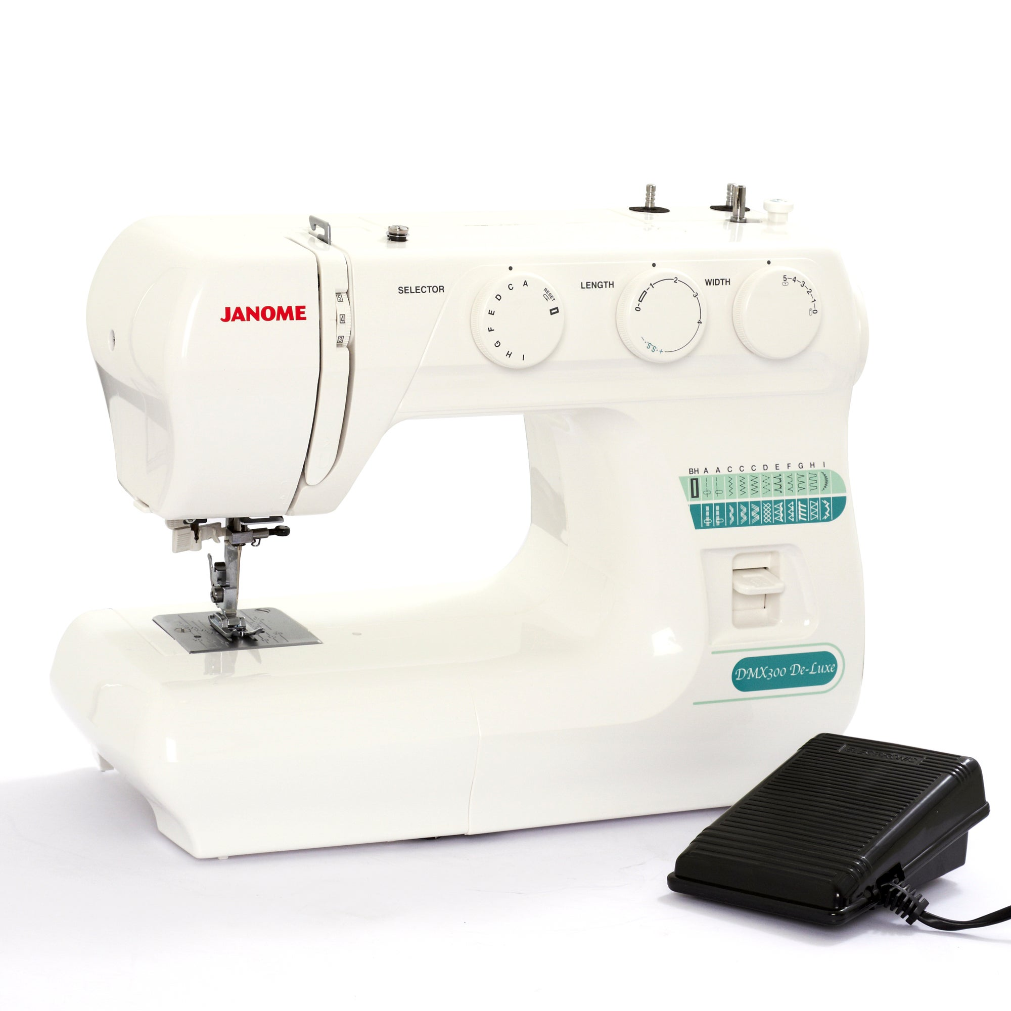 Janome DMX300 Deluxe Sewing Machine