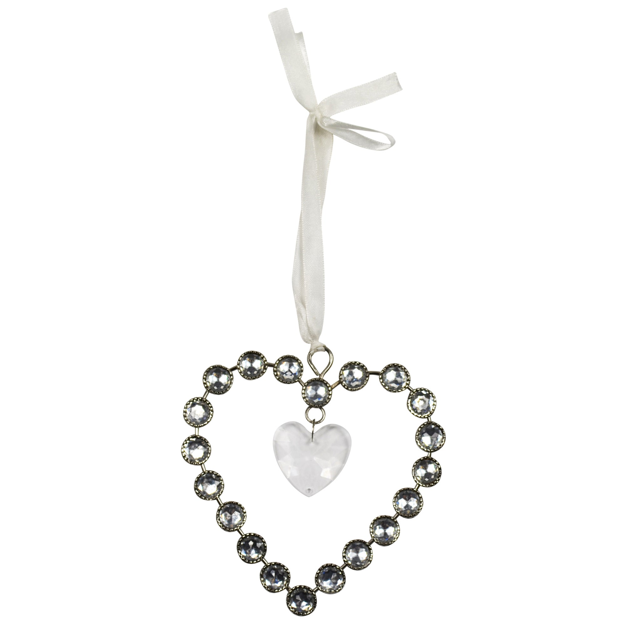 Sparkle Collection Small Hanging Jewel Heart