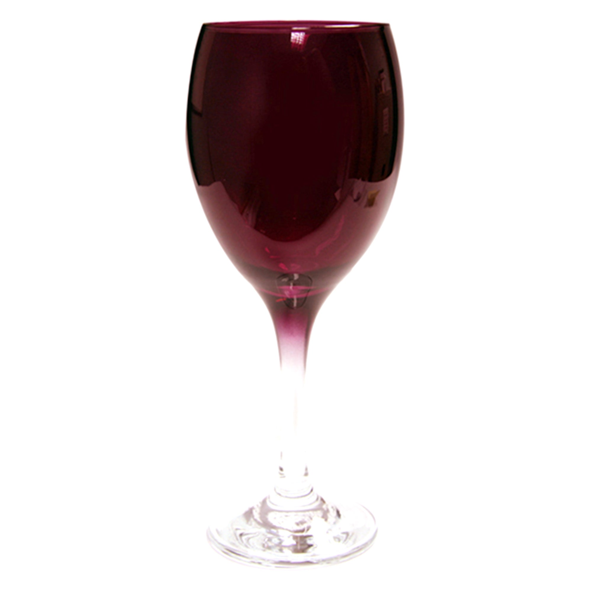 Red Spectrum Collection Tall Wine Glass