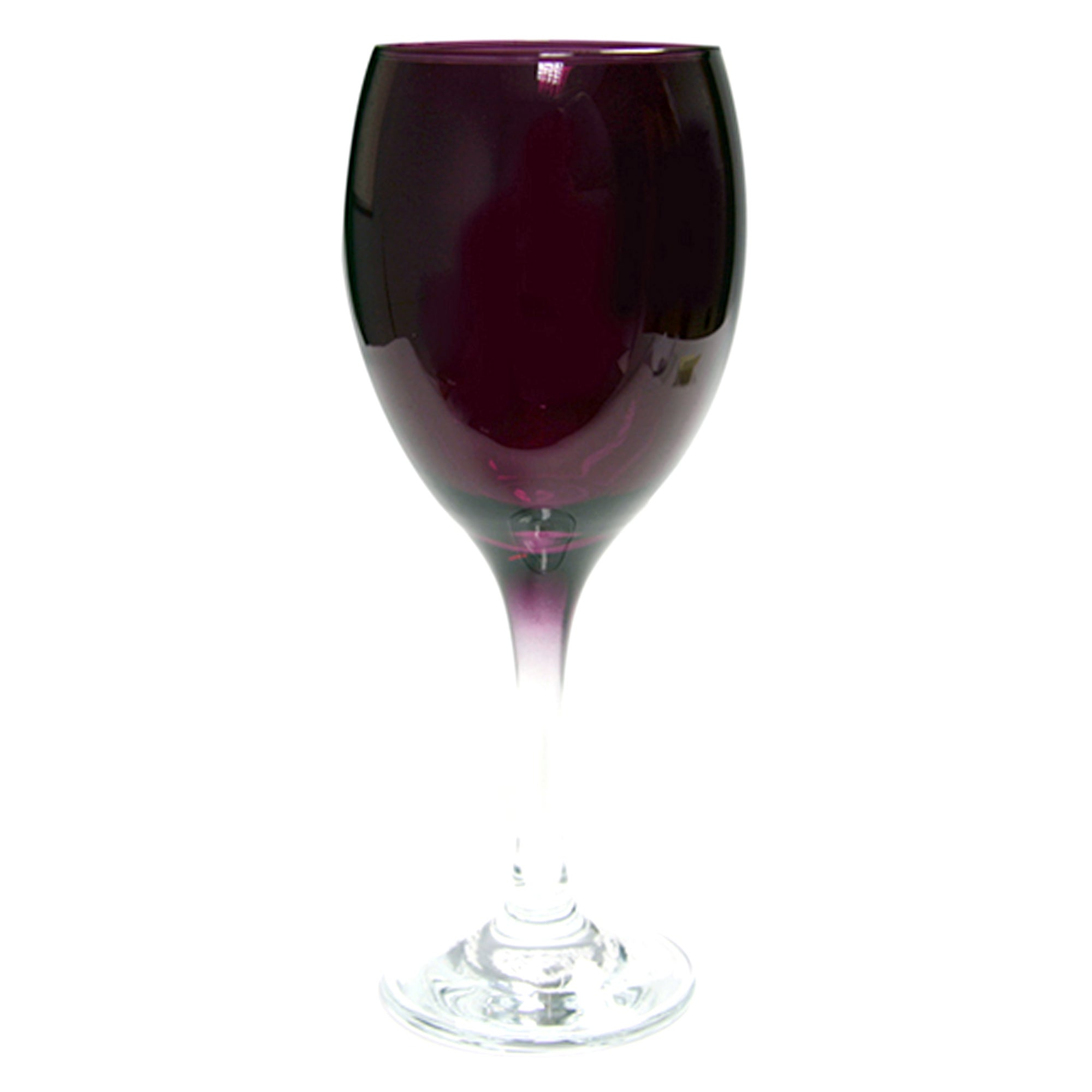 Purple Spectrum Collection Tall Wine Glass