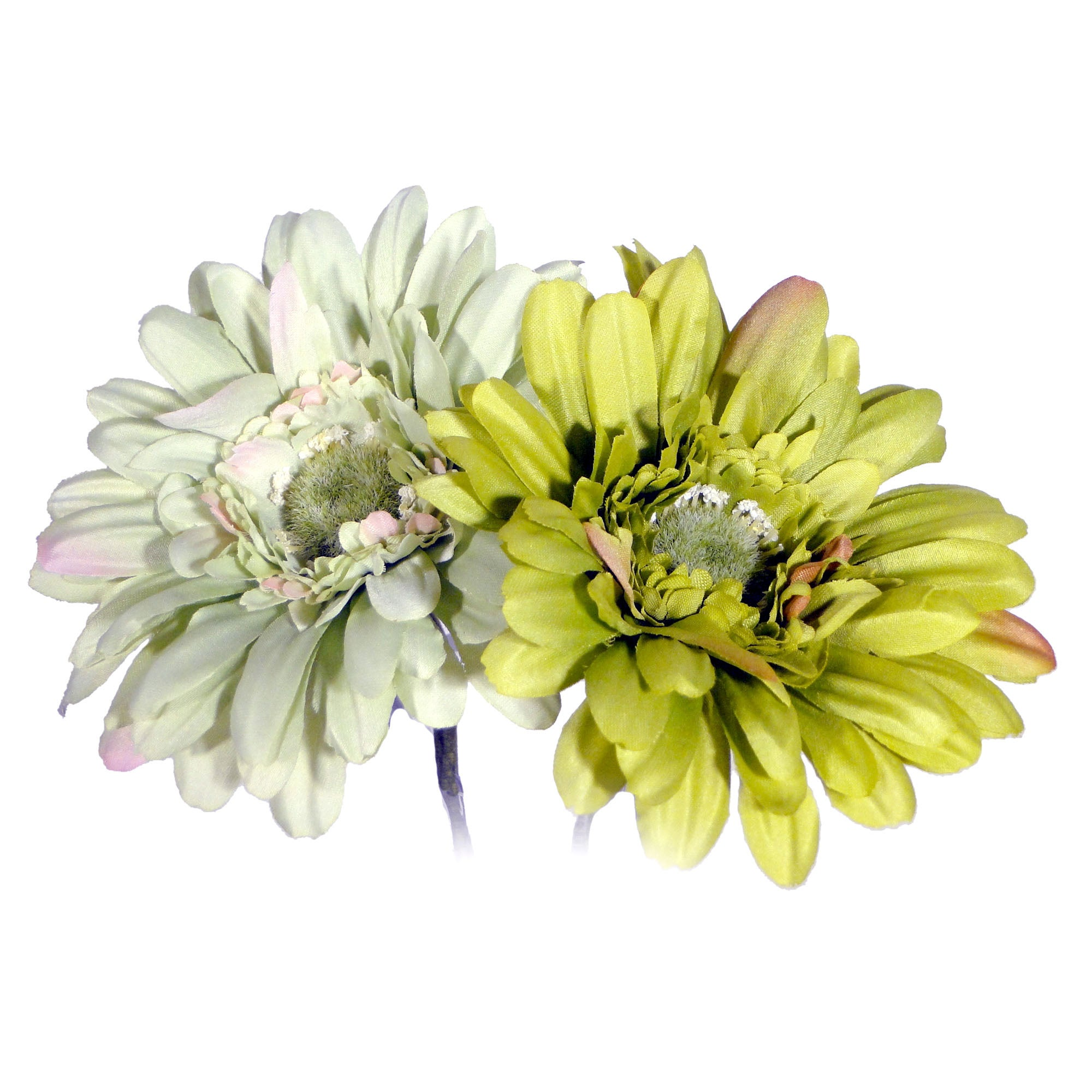 Lime Artificial Tiffany Gerbera Spray