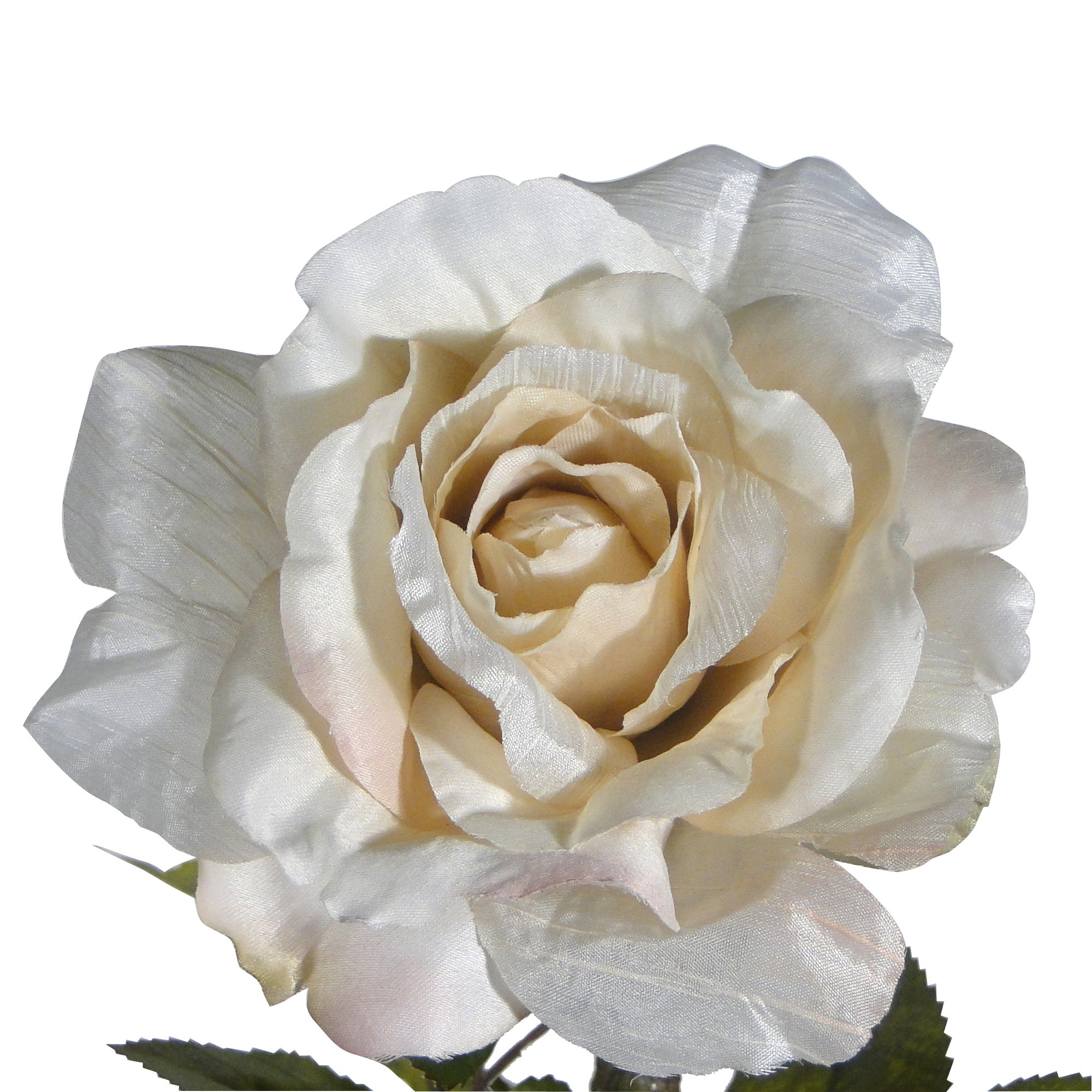 Artificial Crinkle Rose Stem