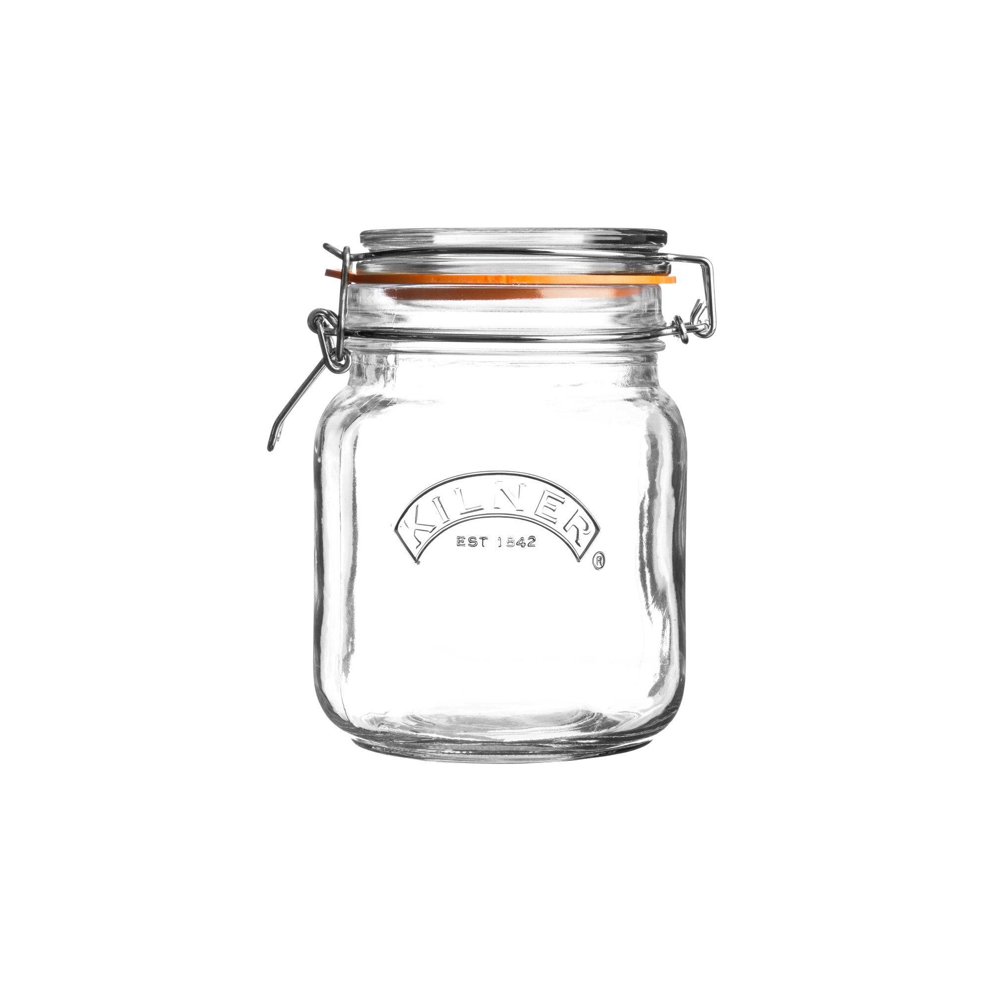 Kilner 1 Litre Clip Top Glass Jar