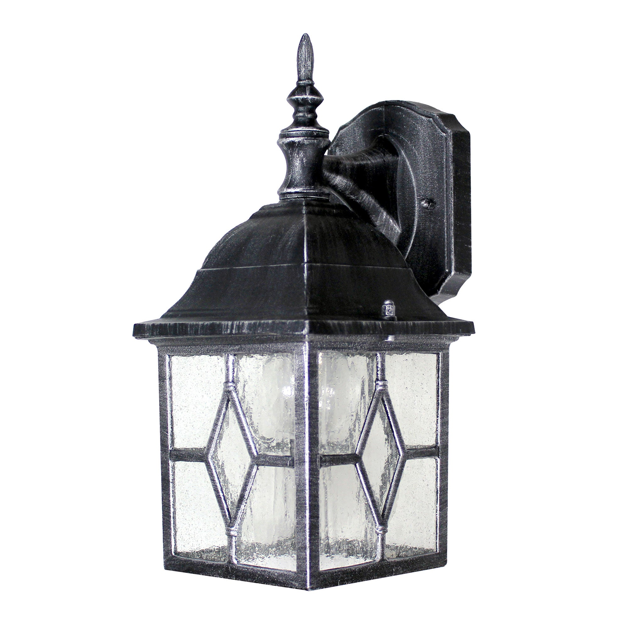 Outdoor 4 Sided Black Lantern