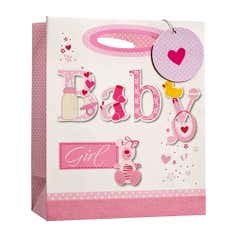 Simon Elvin Baby Girl Gift Bag