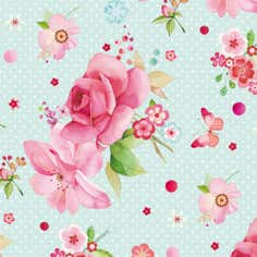 Simon Elvin Floral Wrapping Paper