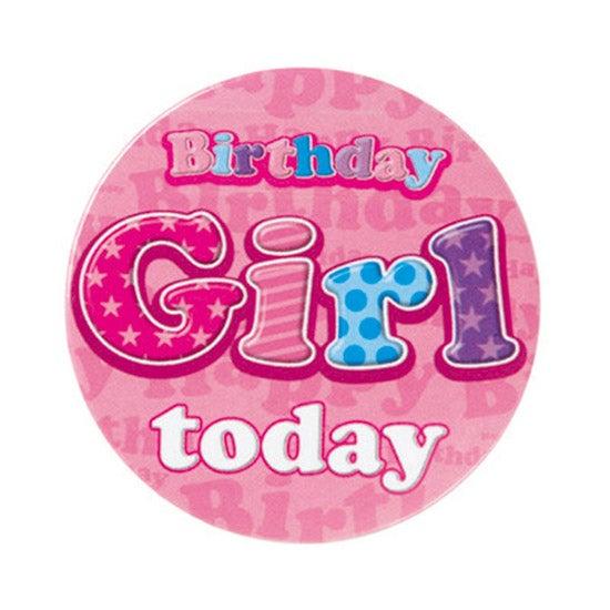 Birthday Girl Badge
