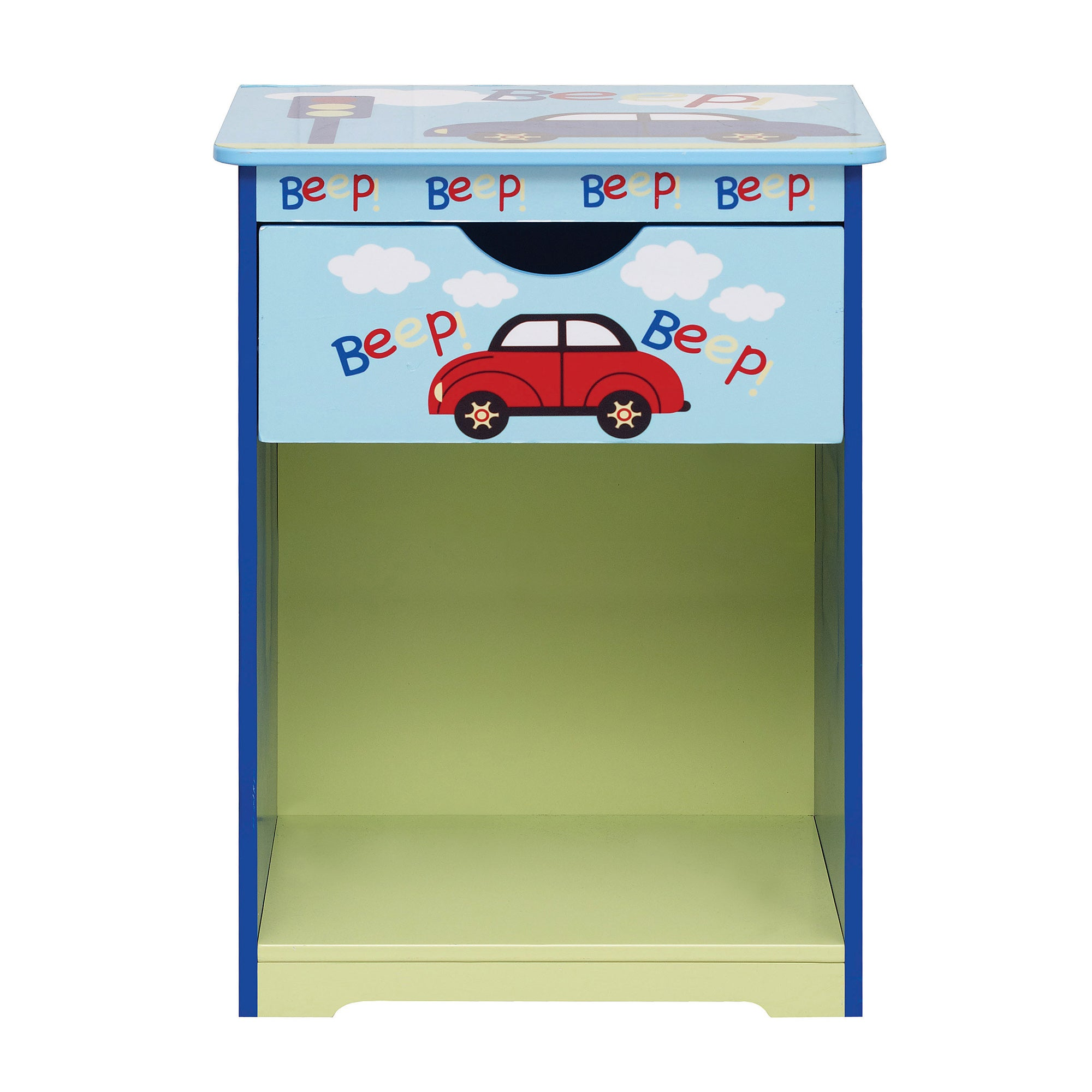 Kids Beep Beep Bedside Table