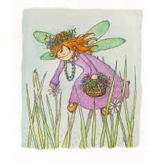 Artistic Britain Kids Grass Fairy Canvas