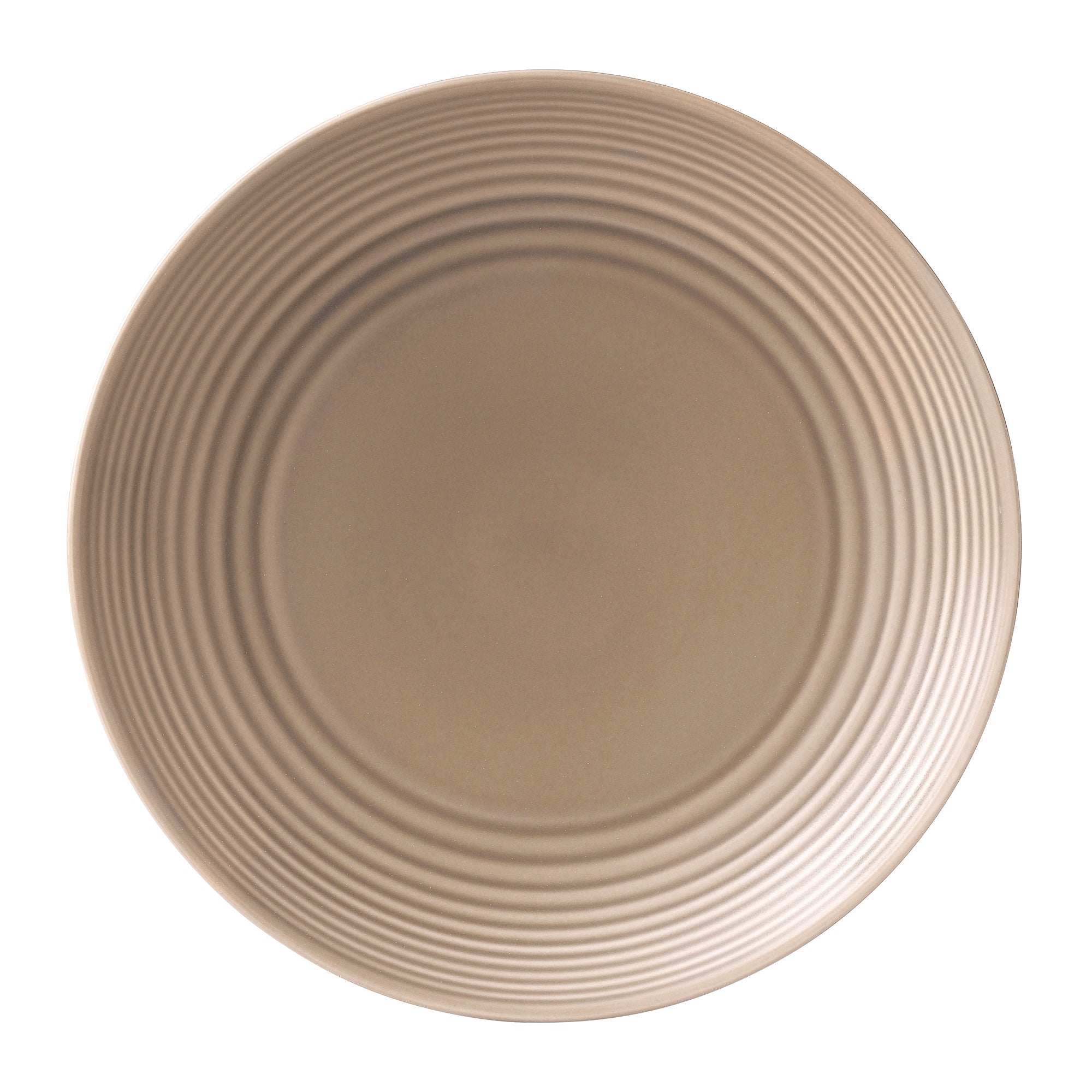 Taupe Gordon Ramsay Maze Collection Dinner Plate