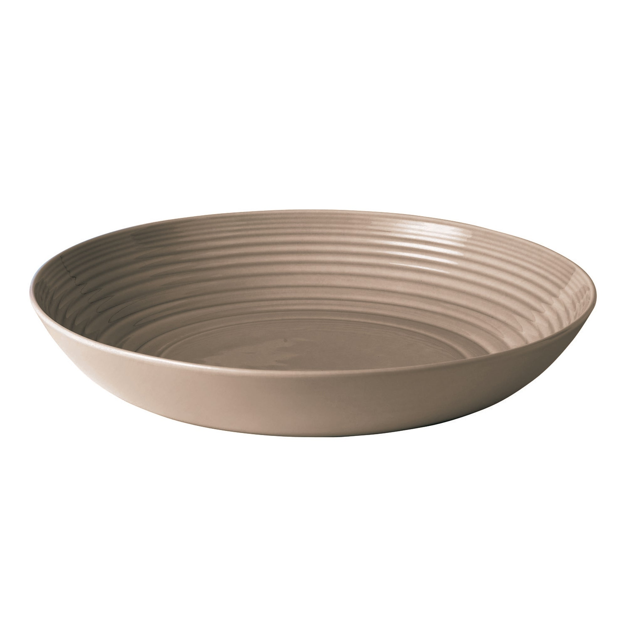 Taupe Gordon Ramsay Maze Collection Serving Bowl