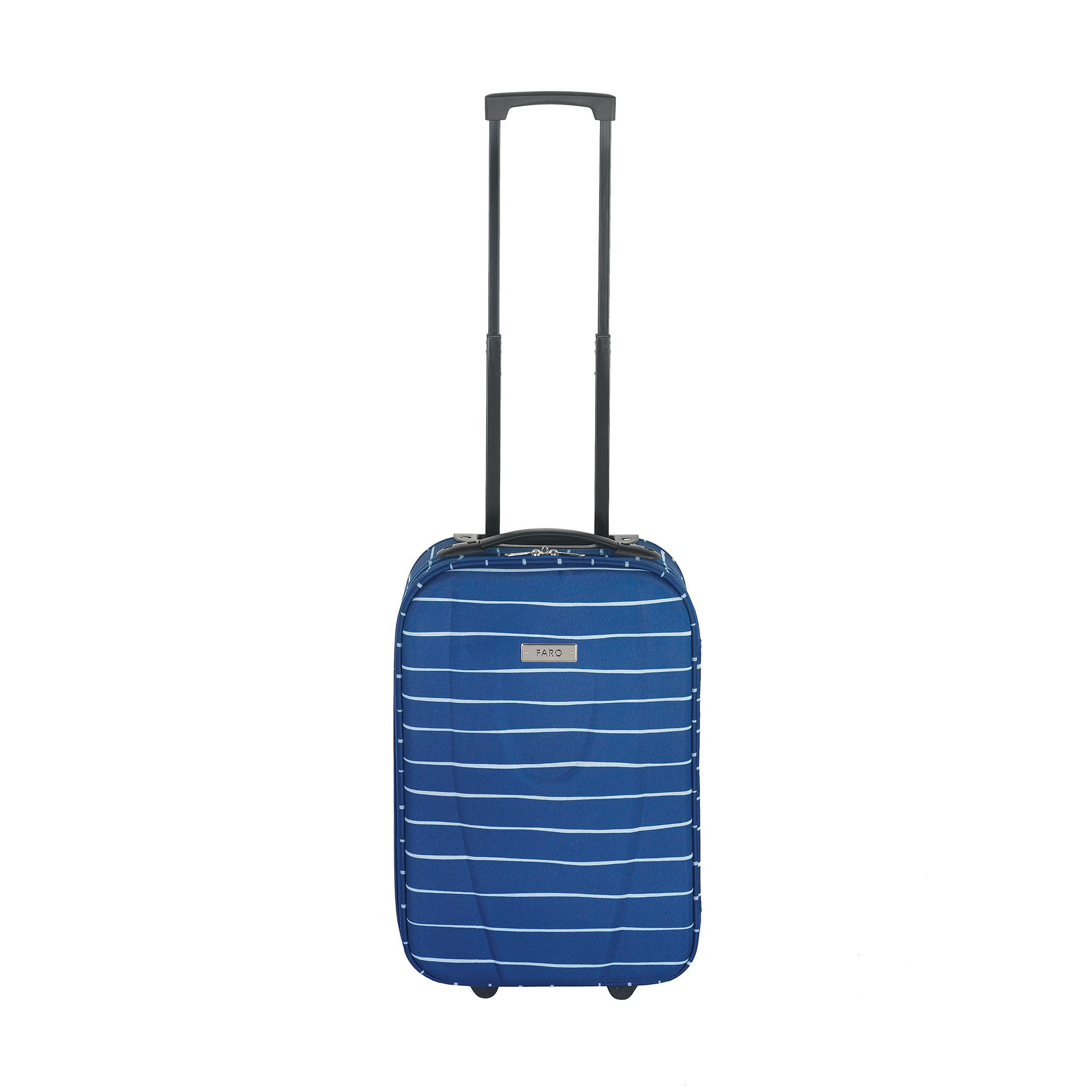 Faro Blue Stripe Cabin Suitcase