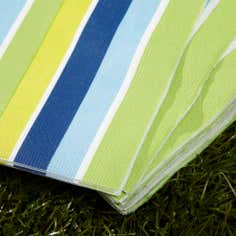 Summer Daze Stripe Paper Napkins
