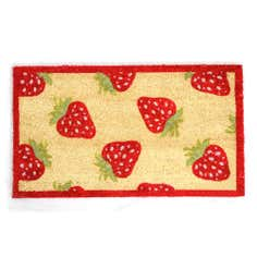 Strawberry Coir Doormat