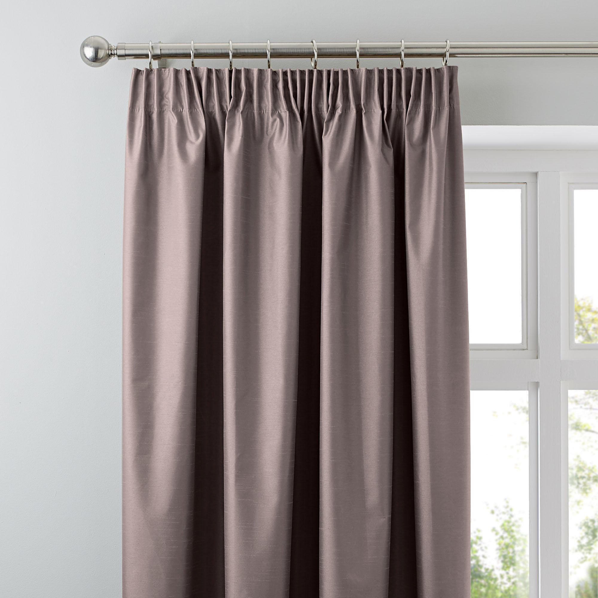 Gold Nova Blackout Pencil Pleat Curtains