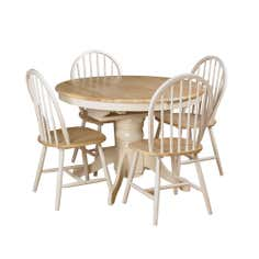 Cotswolds Ivory Round Table and Chairs