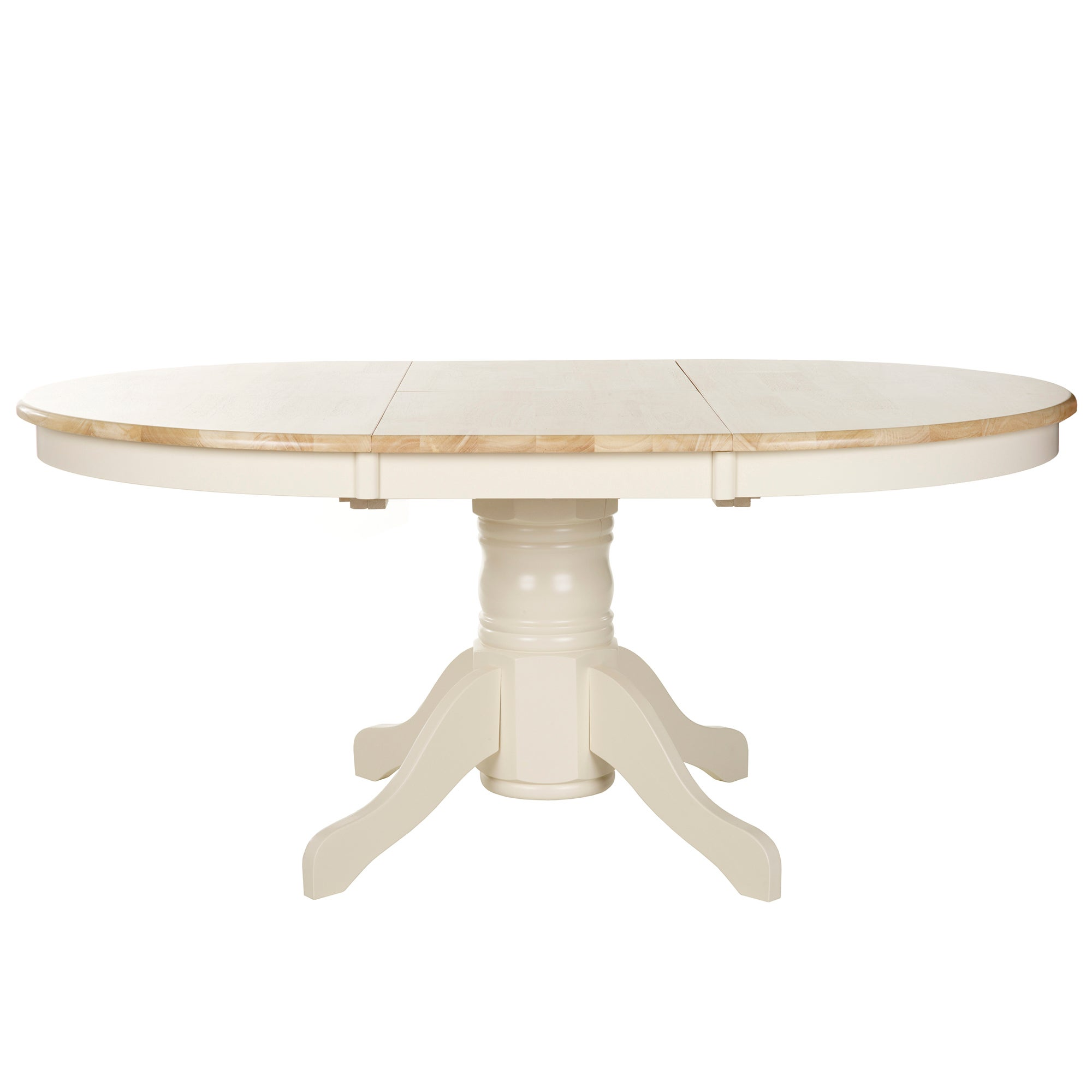 Cotswolds Ivory Extendable Dining Table