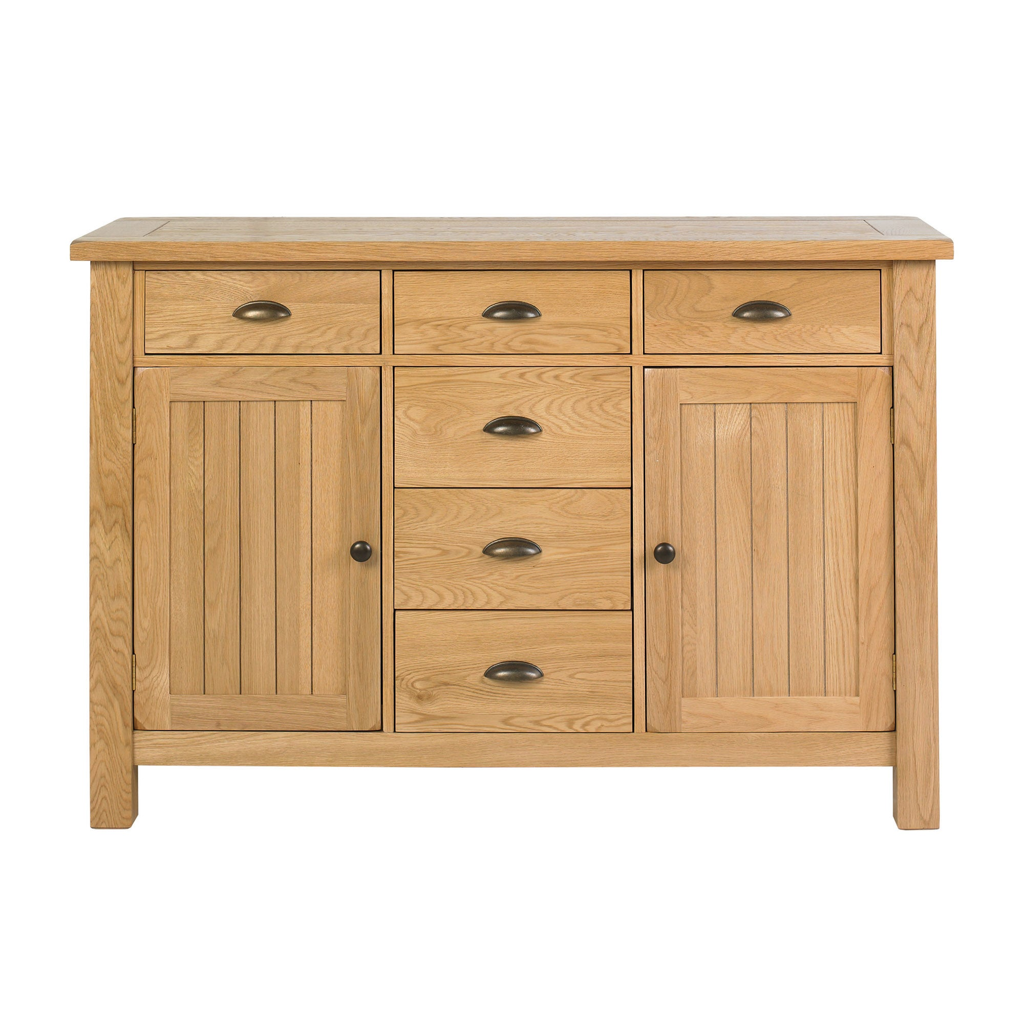 Stamford Natural Oak Large Sideboard