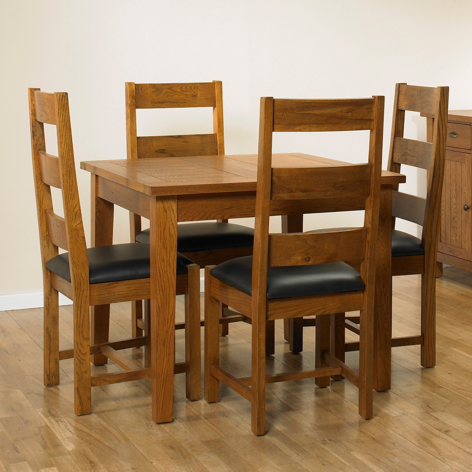 Stamford Rustic Oak Dining Furniture Collection