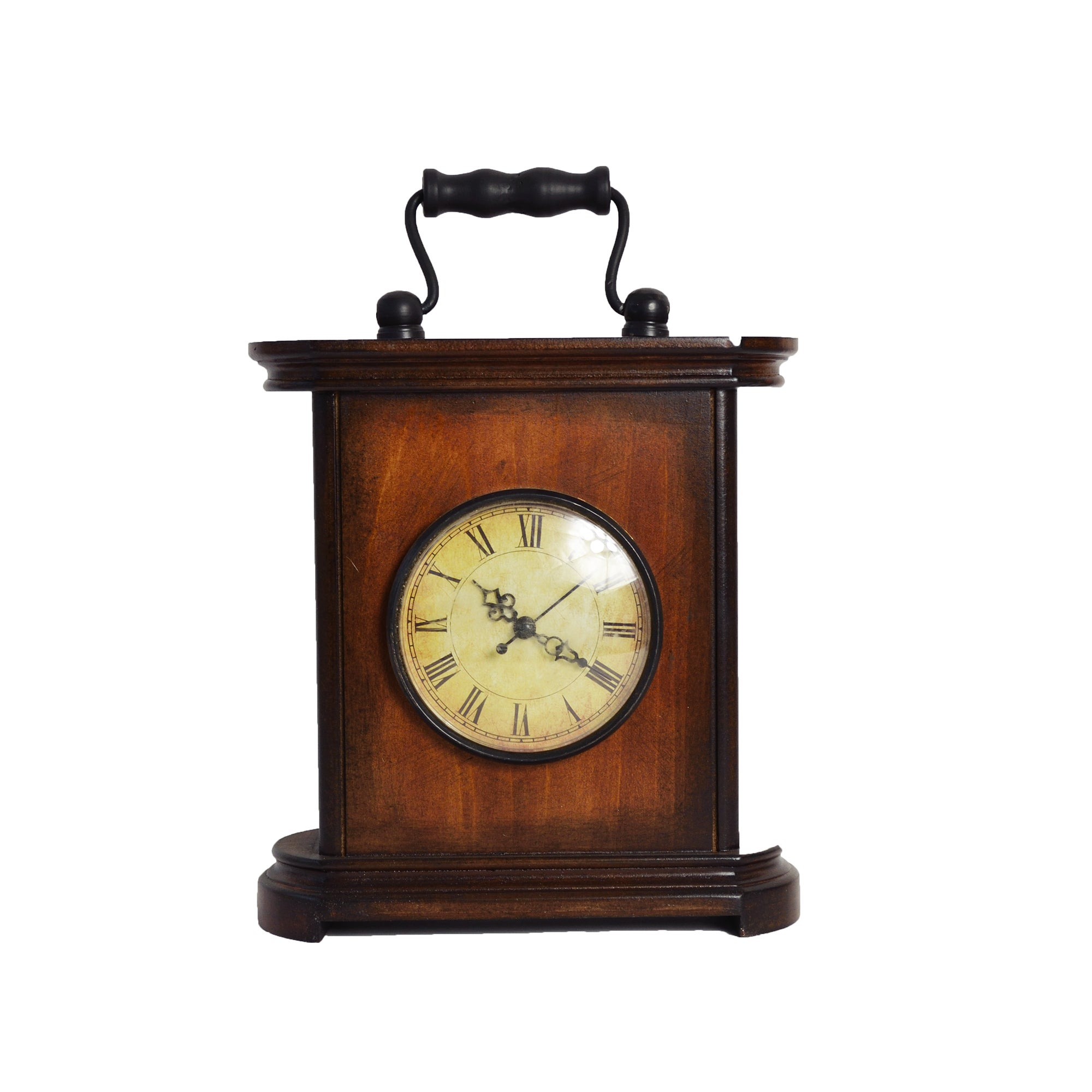 Colonial Collection Table Wood Clock