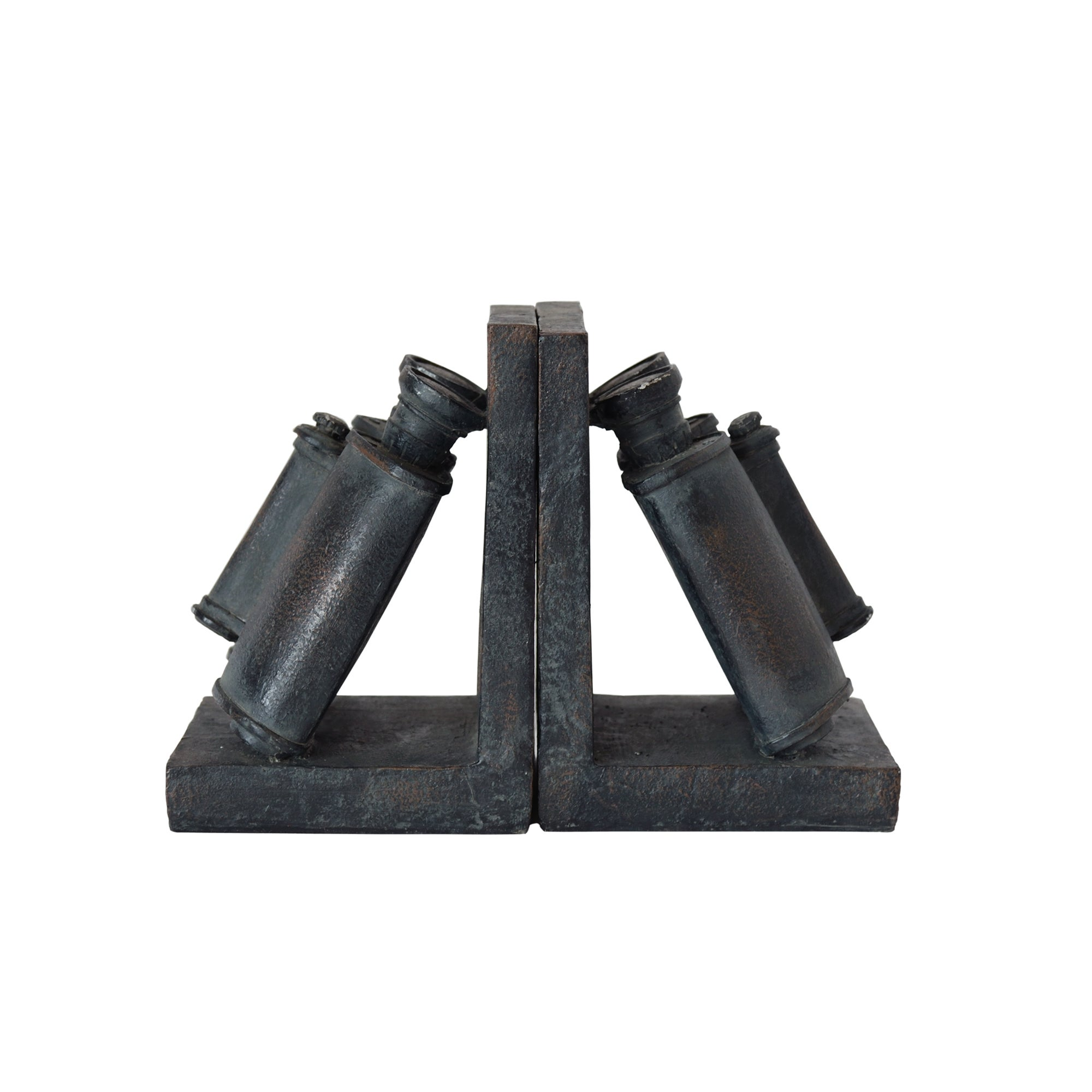 Colonial Collection Binocular Bookends Set