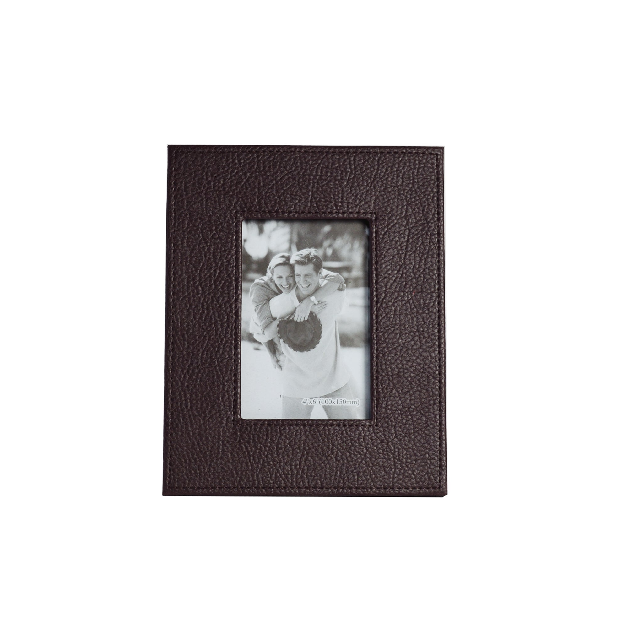 Colonial Collection Small Faux Leather Photo Frame