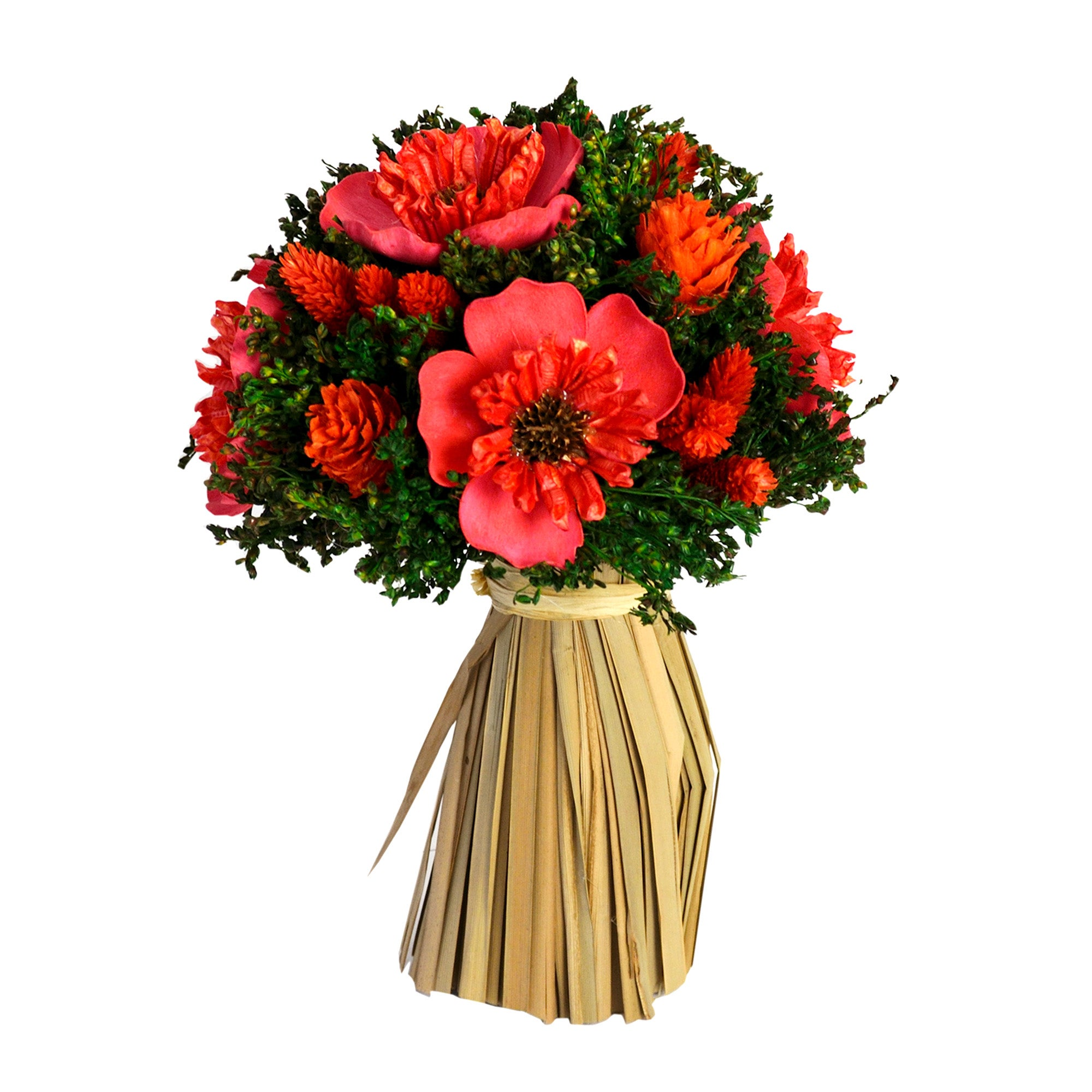 Natural Flowers Orange Daisy Bundle
