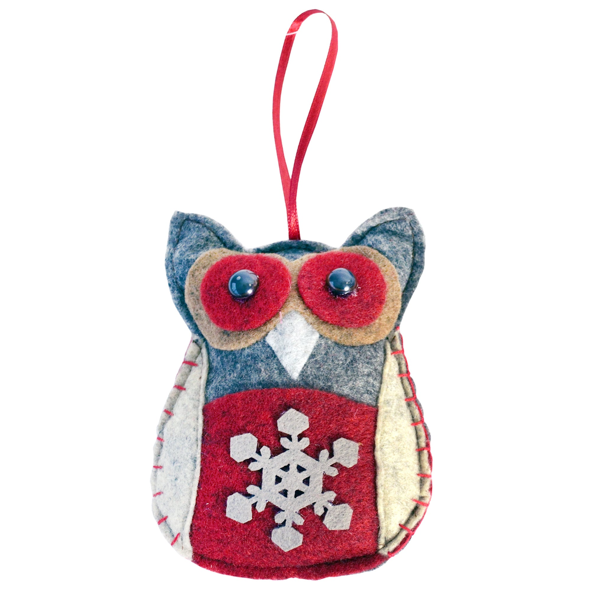 Woodland Retreat Collection Felt Owl