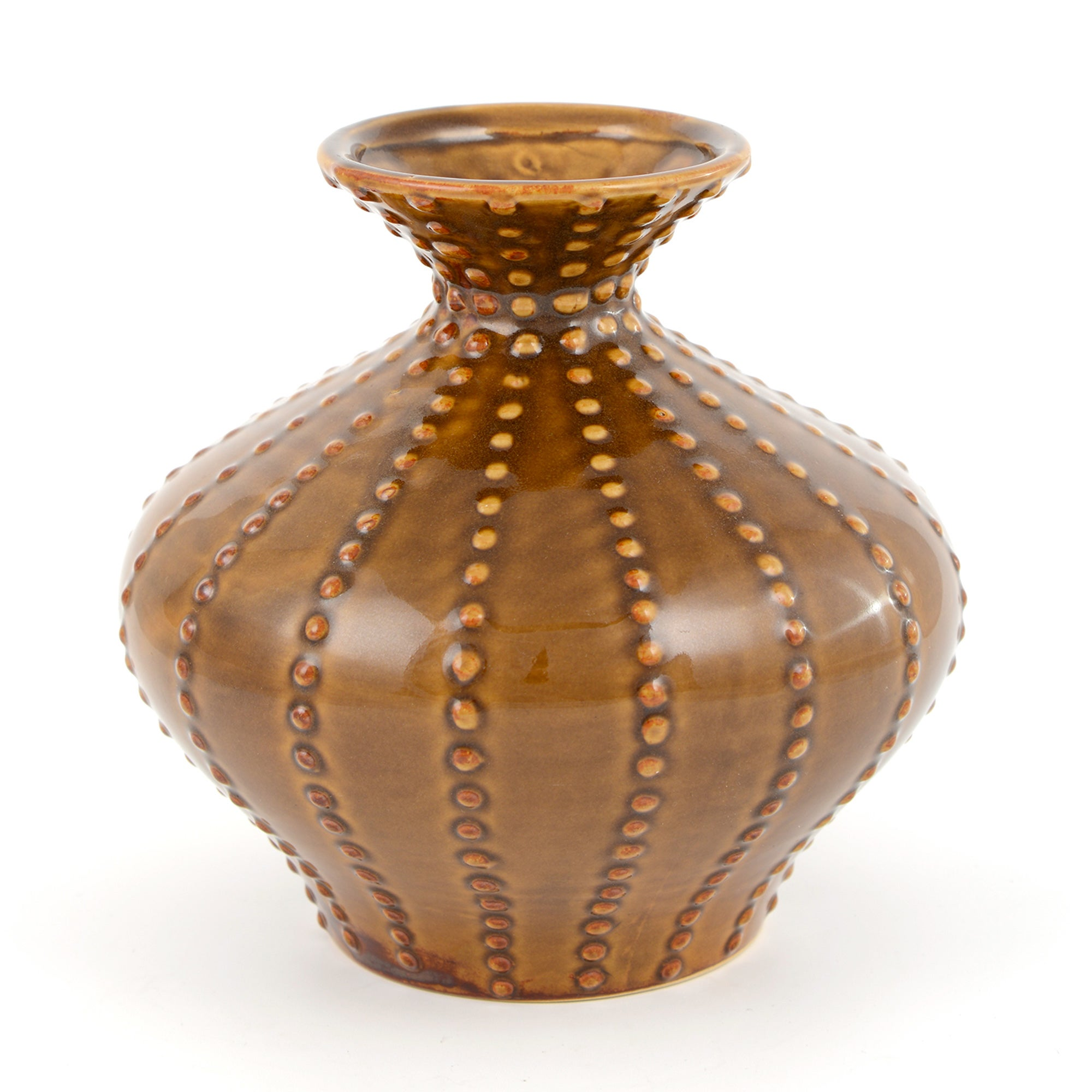 Global Fusion Collection Ochre Vase