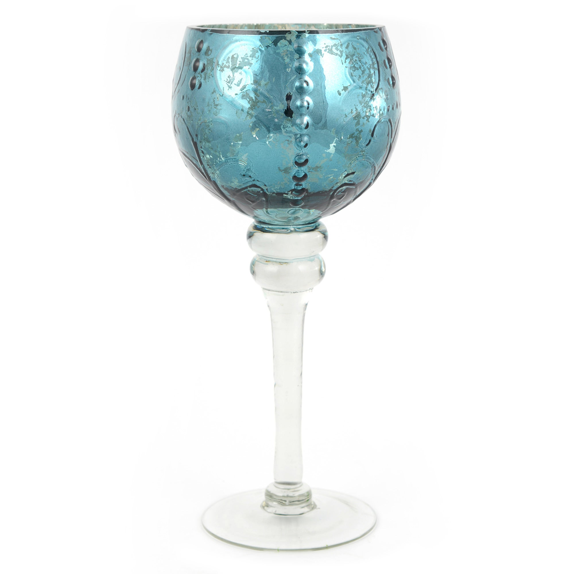 global fusion collection goblet tea light holder dunelm. Black Bedroom Furniture Sets. Home Design Ideas