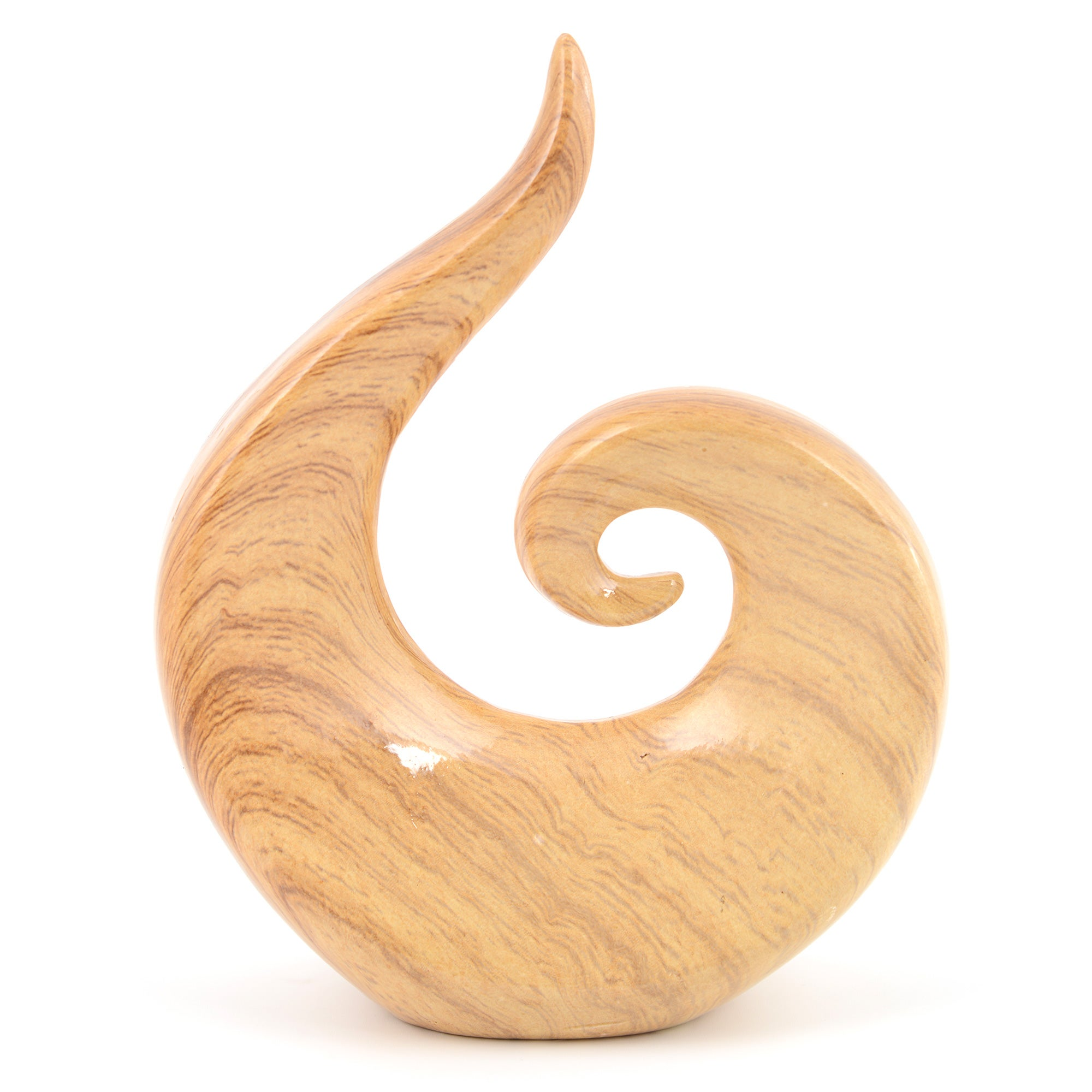 Woodland Retreat Swirl Sculpture