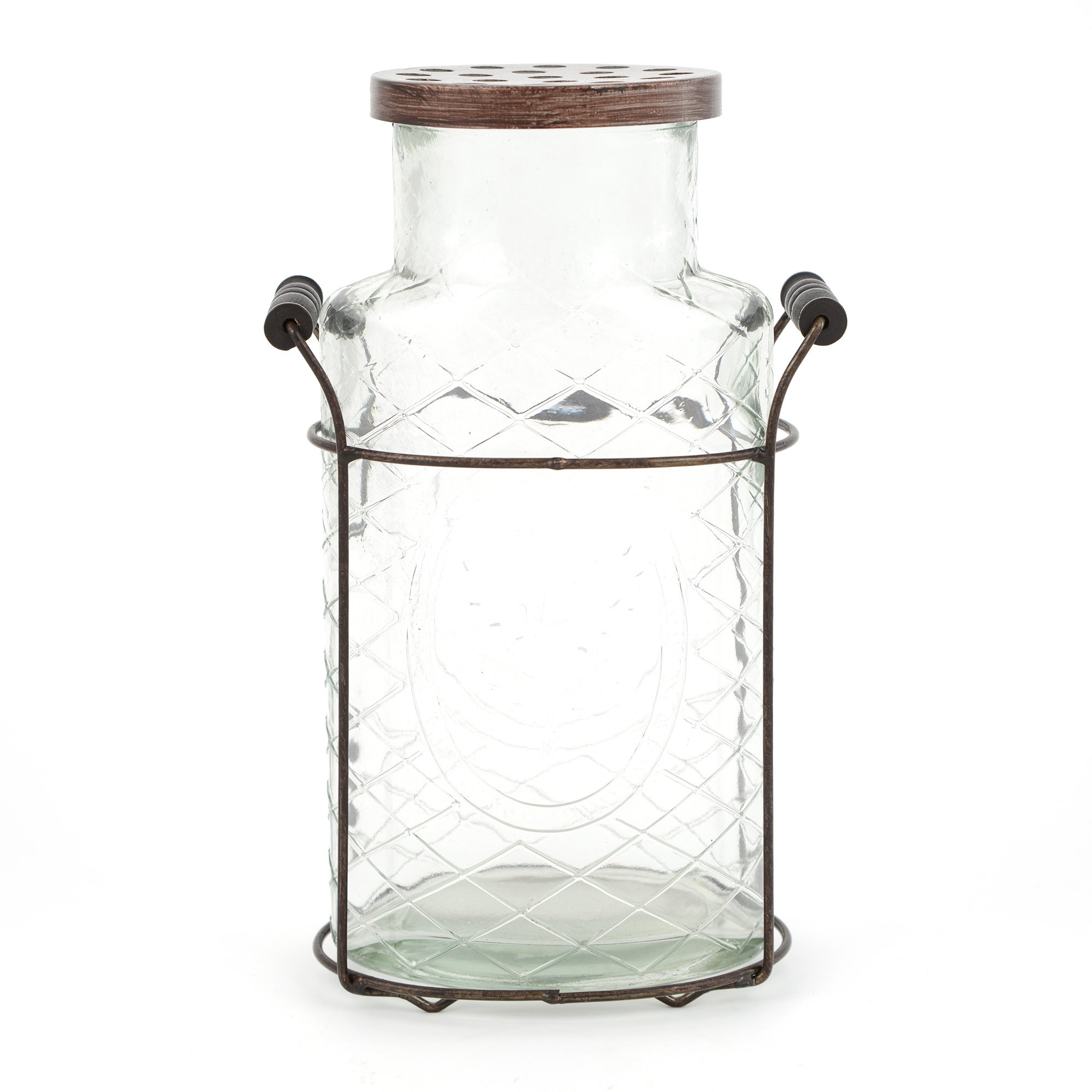 Woodland Retreat Collection Flower Bottle With Stand