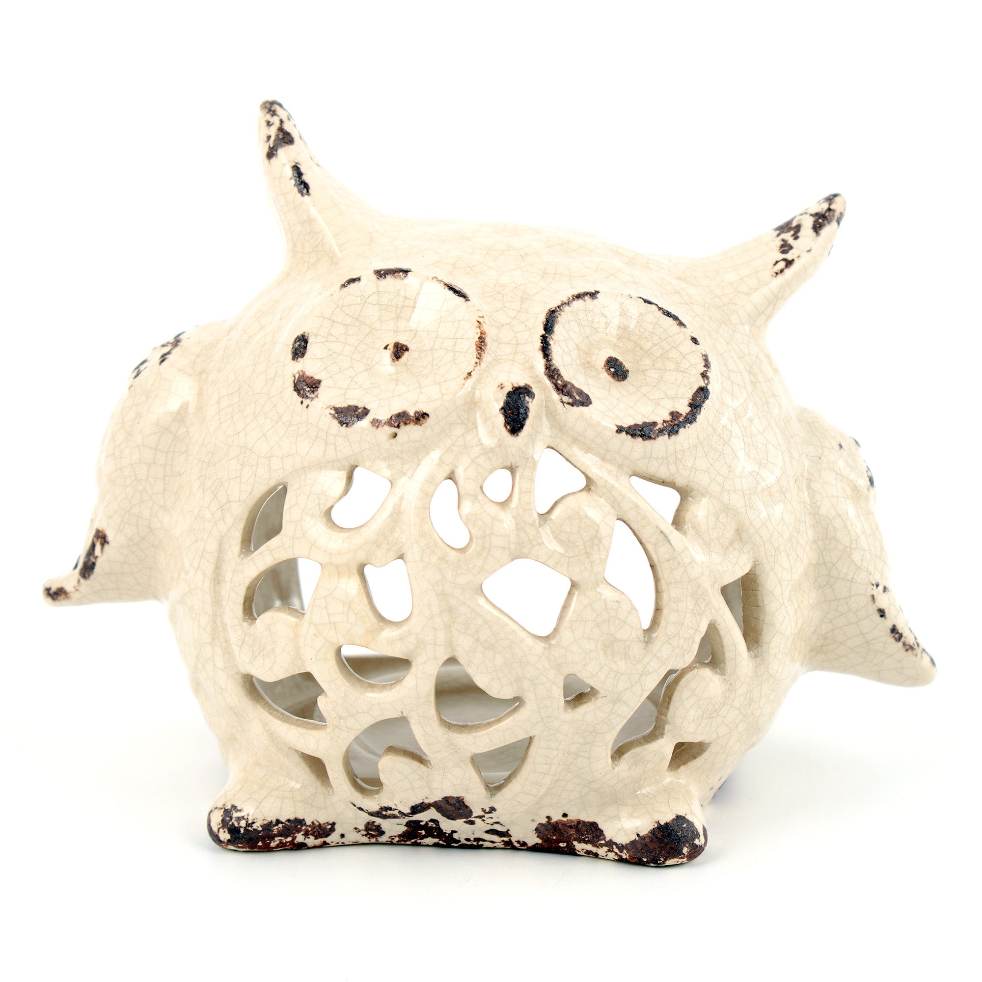 Woodland Retreat Collection Owl Tea Light Holder