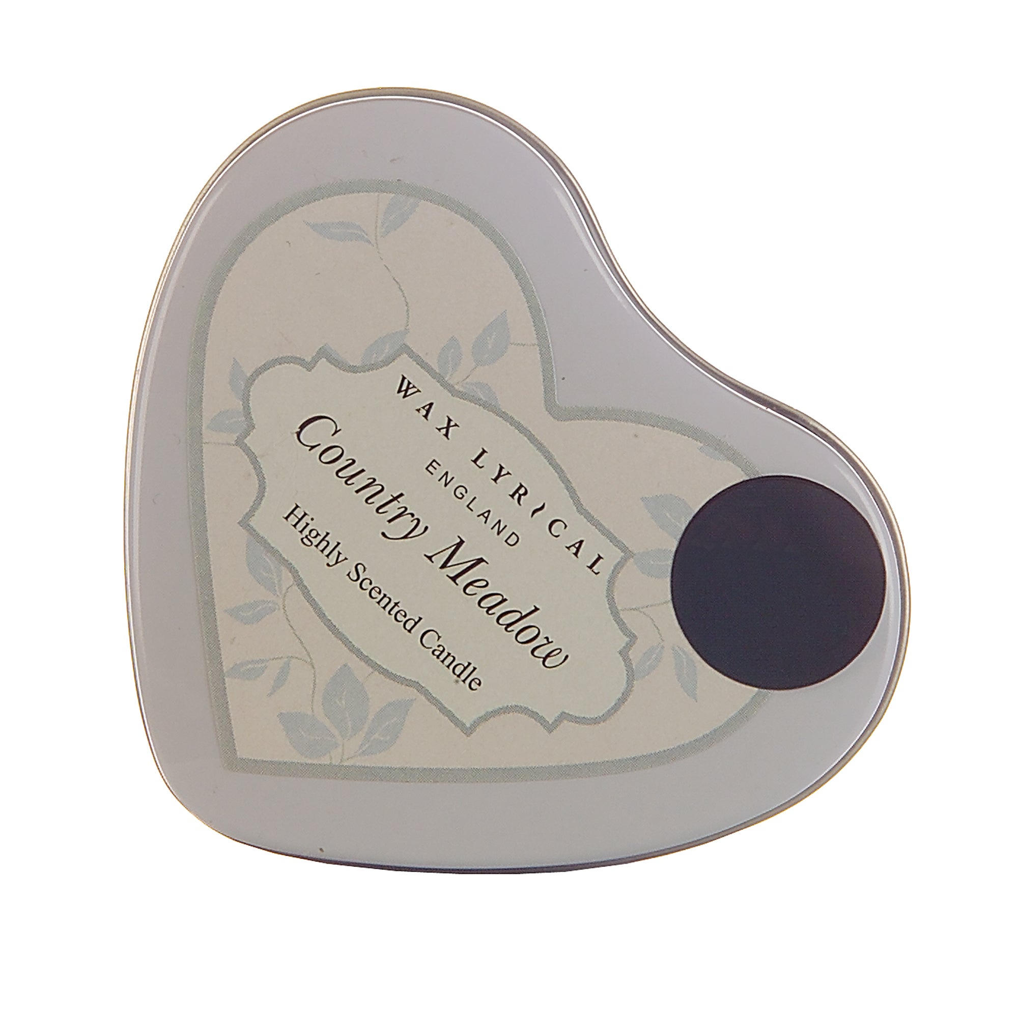 Wax Lyrical Country Meadow Heart Shaped Candle Tin