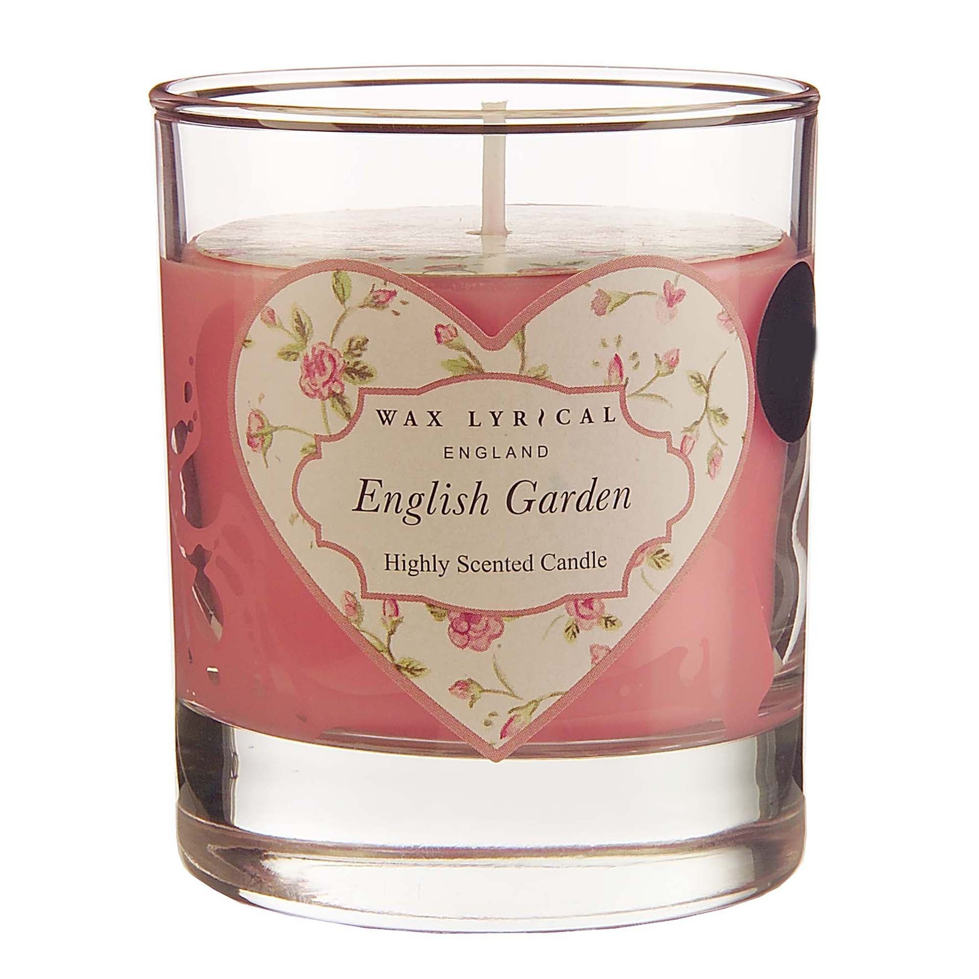 Wax Lyrical English Garden Wax Filled Glass Candle