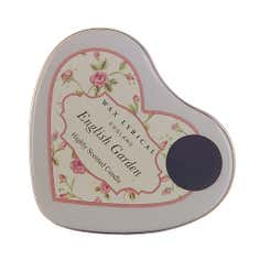 Wax Lyrical English Garden Heart Shaped Candle Tin