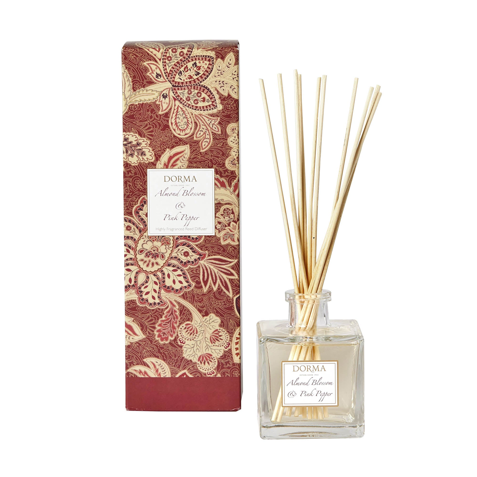 Dorma Almond Blossom and Pink Pepper 200ml Reed Diffuser