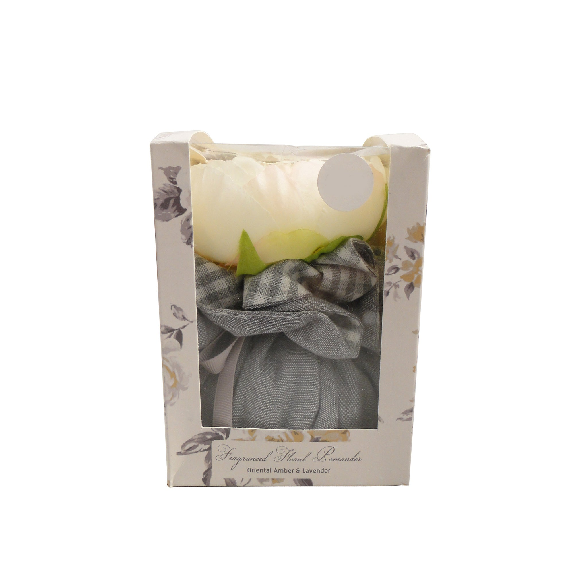 Grey Colonial Floral Pomander