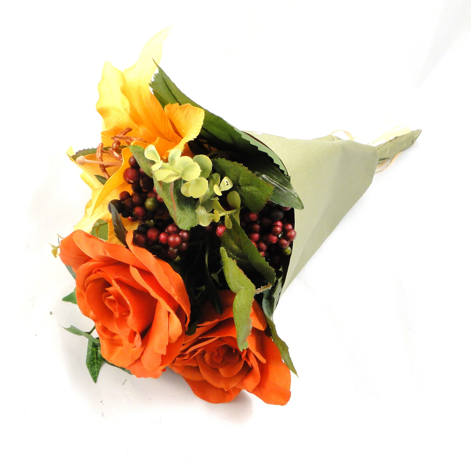 Artificial Rose Ranunculus Amarylis Bouquet