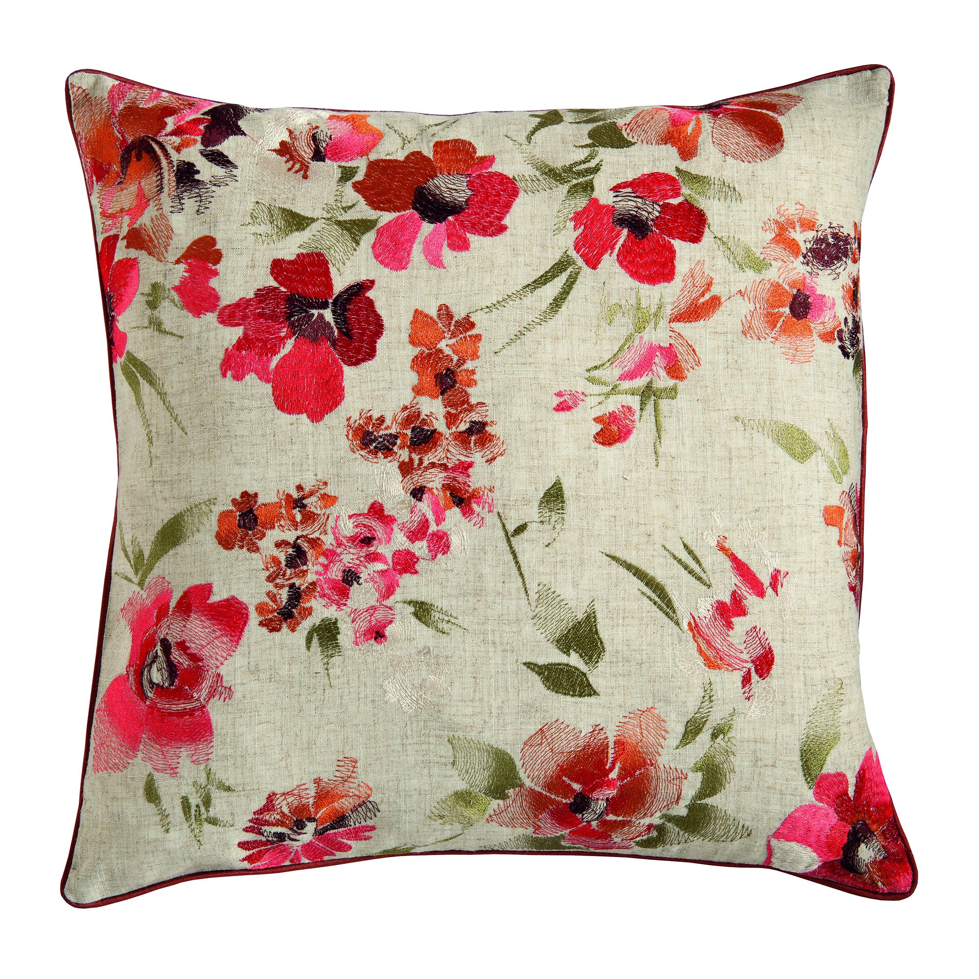 Autumn Floral Cushion