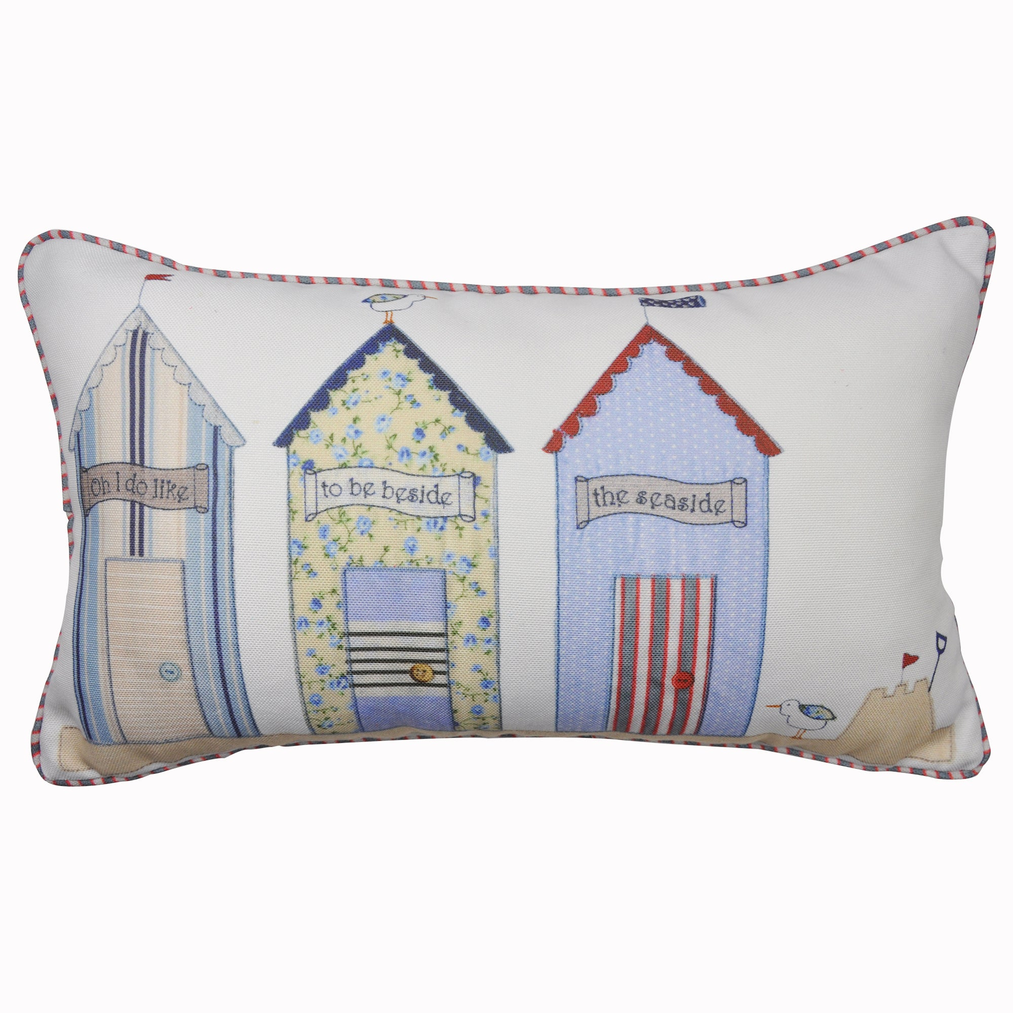 Beside the Seaside Boudoir Cushion