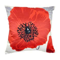 Blaise Poppy Cushion