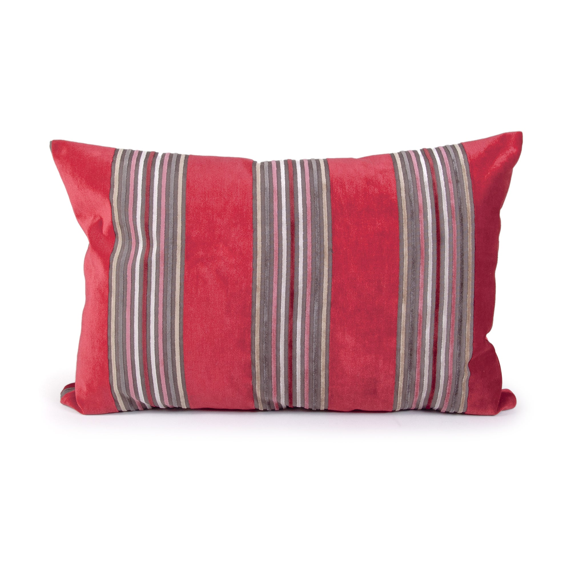 Capri Stripe Boudoir Cushion