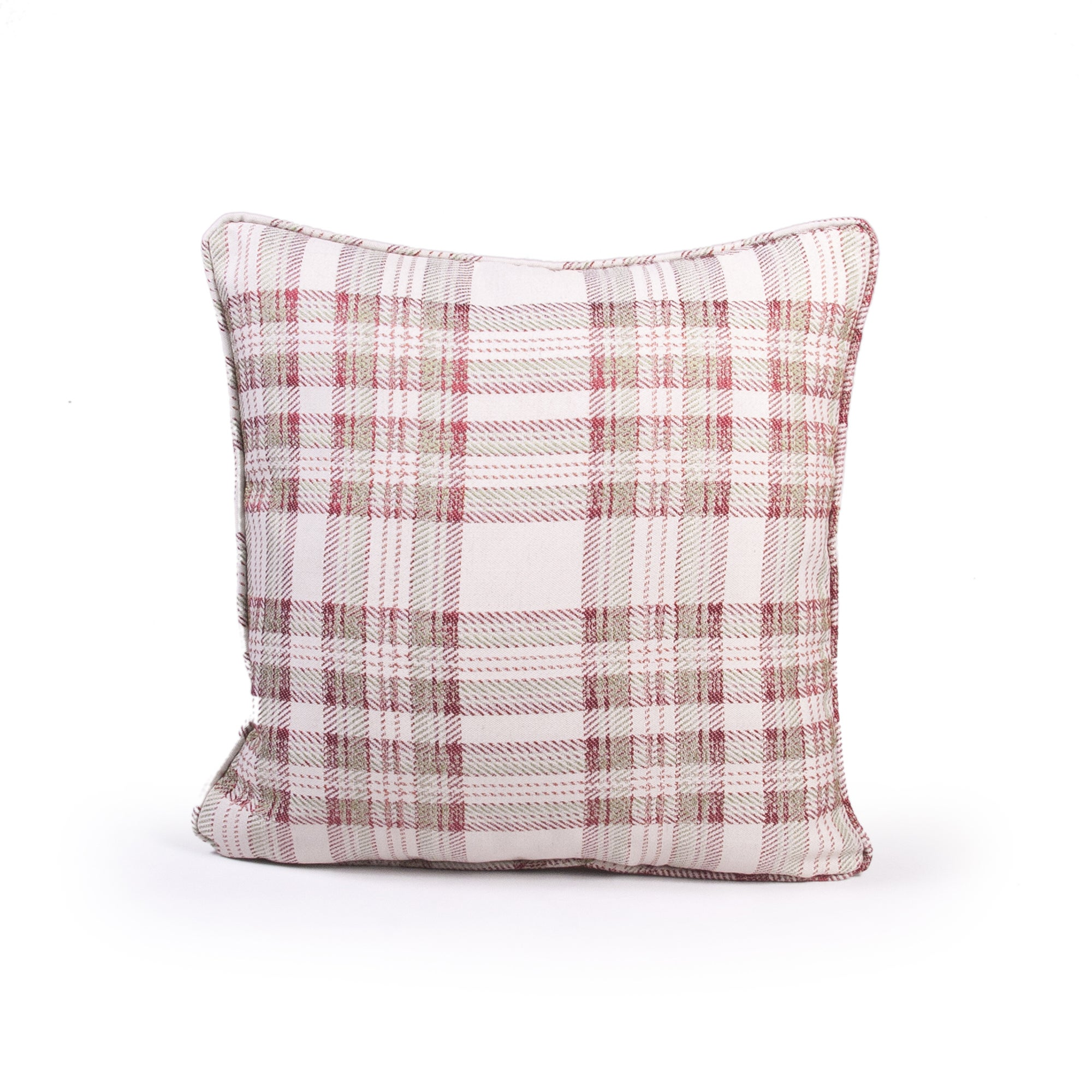Curtis Check Cushion