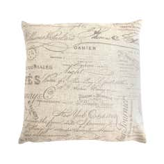 Script Cushion Cover