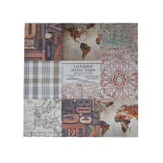 Colonial Collection Square Printed Canvas