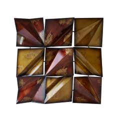 Crinkled Metal Wall Art