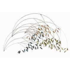 Sweeping Branches Metal Wall Art