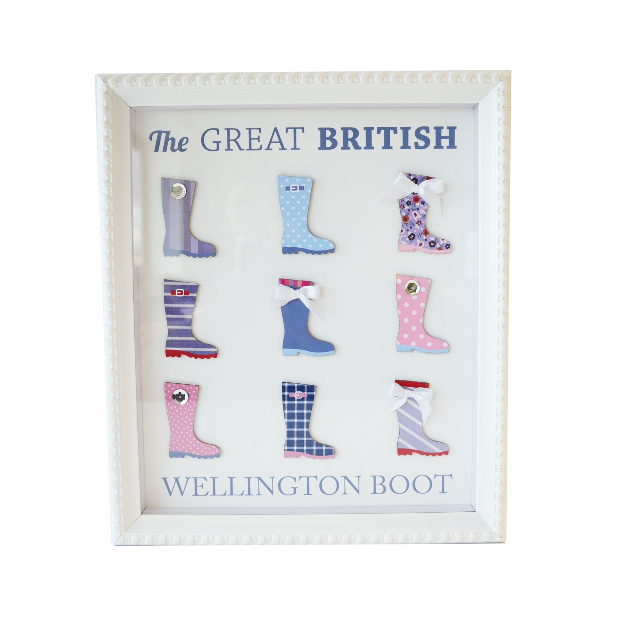 Wellington Boot Framed Wall Art